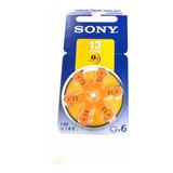 Pila Audífono 13, Sony 100% Original, Batería Pr48