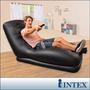 Sofa Cama Intex Multiuso Inflable Negro
