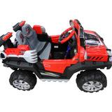 Carro Jeep Moto Recargable Electrico Niños Niña 12v Montable
