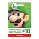 Nintendo Eshop Codigo Digital $10 Switch / Wii U / 3ds