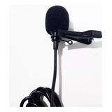 Microfono Estereo Plug 3.5mm De Solapa Garantizado