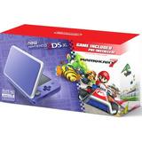 New Nintendo 2ds Xl Color Lila+ Juego Mario Kart 7. Nueva