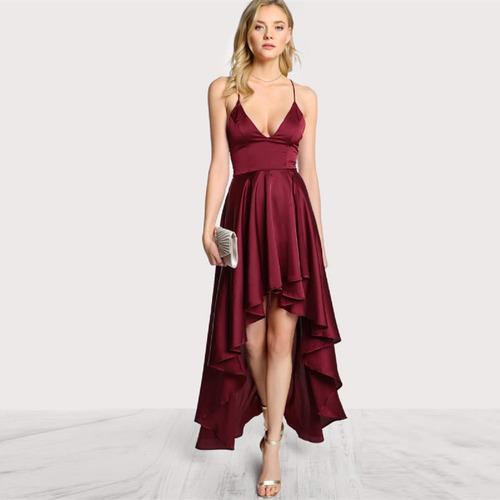 e7060462e0 Elegante Y Sexy Vestido Coctel Fiesta