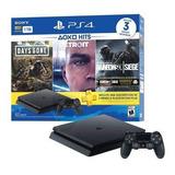 Play 4 1tb Ps4 Playstation4 + 3 Juegos Y Plus Nueva