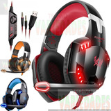 Audifonos  Diadema  Balaca Gamer Ps4 Xbox One  Pc  Luces Led