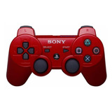 Control Inalámbrico Dualshock®3 Bluetooth Color Rojo