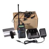 Radio De Comunicacion  Profesional X 1 Unidad Baofeng Uv 5r