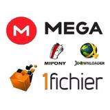 Cuentas Premium Mega Y 1fichier 30 Dias Envio Inmediato