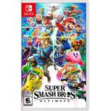 Super Smash Bros Ultimate Nintendo Switch Fisico Nuevo Esp