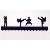 Exclusivo Porta-medallas Para Taekwondo 15 Unds