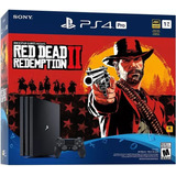 Playstation 4 Pro 1tb Con Red Dead Redemption 2 Tula Ps4 Pro