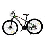 Bicicleta Todoterreno Mtb Base Negro Rin 24