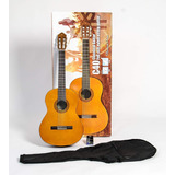 Guitarra Acústica Yamaha C40 Con Estuche Y Método. Citimusic