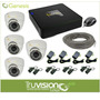 Cctv Kit 4 Camaras De Seguridad Hd Video Vigilancia