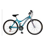Bicicleta Mtb Para Dama Drive Sport,barra Caida 18 Vel