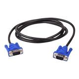 Cable Vga  Con Doble Filtro Para Monitor