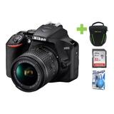 Camara Nikon D3500 18-55mm+32gb+bolso+kit De Limpieza