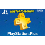 Playstation Psn Plus 3 Meses 98 Días Ps4 Online +juegos Plus