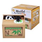 Alcancia De Gato O Panda Roba Monedas Animada Electronica