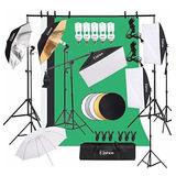 Kit De Iluminacion Para Fotografia Kshioe, Juego De Softbox