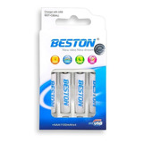 Baterias Beston Aa/aaa Recargable X 4 Pack + Carg