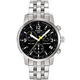 Reloj Hombre Tissot Original Prc200 T067.417.110 + Manil Oro