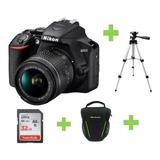 Camara Nikon D3500 18-55mm+32gb+bolso+tripode