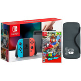 Nintendo Switch Neon  + Mario Odyssey. Garantia 1 Año