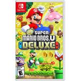 New Super Mario Bros U Deluxe Nintendo Switch Entrega Ya