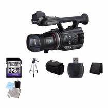 Filmadora 2d Y 3d Panasonic Hdc-z10000 3mos Sens 32gb Pack