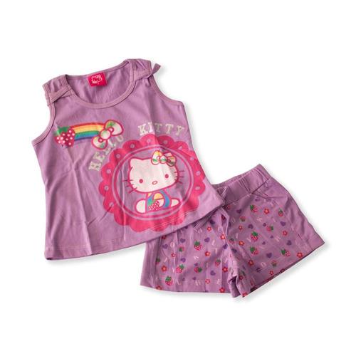 b24635cf5 Pijama Hello Kitty Niña Talla 7 Color Morado