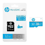 Memoria Micro Sd 32 Gb Hp Clase 10 Uhs-i 100 Mb/s Genuina