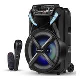 Cabina De Sonido Recargable Connor Bluetooth Parlante Tx1000