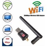 Adaptador Antena Wifi Usb 300 Mbps