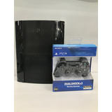 Play Station 3 Super Slim 250 Gb + 2 Controles Y 22 Juegos