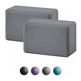 Gaiam Essentials Yoga Block  Set Of 2  -