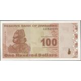 Zimbabwe 100 Dollars 2 Feb 2009 P97
