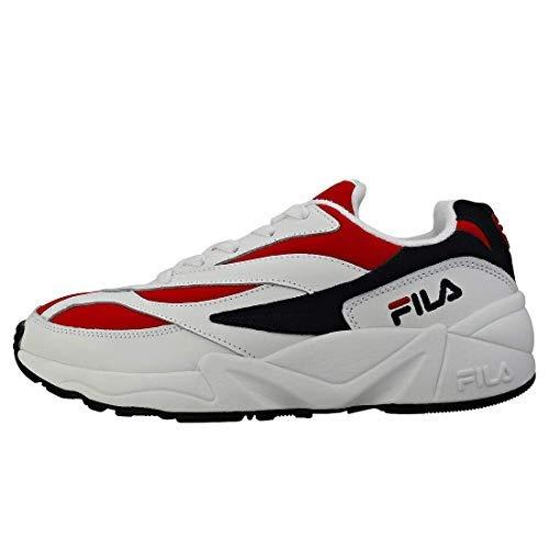 Tenis Zapatillas Fila Venom Blanca Roja Hombre Envio Gratis 710b7cac412