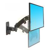 Soporte Para Tv 40 A 55  Nb North Bayou F450 Flexi Negro