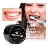 Teeth Whitening Polvo  Carbón Activado Blanqueador Dientes