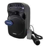 Cabina Sonivox Sonido De Alta Fidelidad+micrófono+control+fm