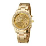 Reloj Mujer Geneva 501 - Dorado