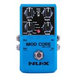 Pedal Multi Efectos Nux Mod Core Deluxe Guitarra Modulador /