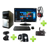 Computador Intel Dual Core 1000gb 4gb Monitor Led Accesorios