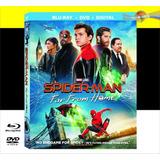 Spider-man: Far From Home Blu-ray+dvd Original!!