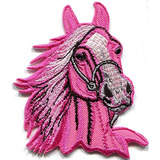 Caballo Colt Bronco Yegua Y Semental Mustang Pony Steed Rosa