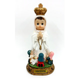 Virgen De Fatima Bebe 20cm Poliresina 529-39254