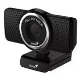 Cámara Web Genius Ecam 8000 Webcam Ful Hd 1080p, Chat, Skype