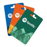 Tarjeta De Regalo Spotify Promoción 3 Meses