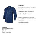 Camisa En Jean, Dotacion Industrial.